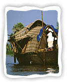 Boats in Kerala